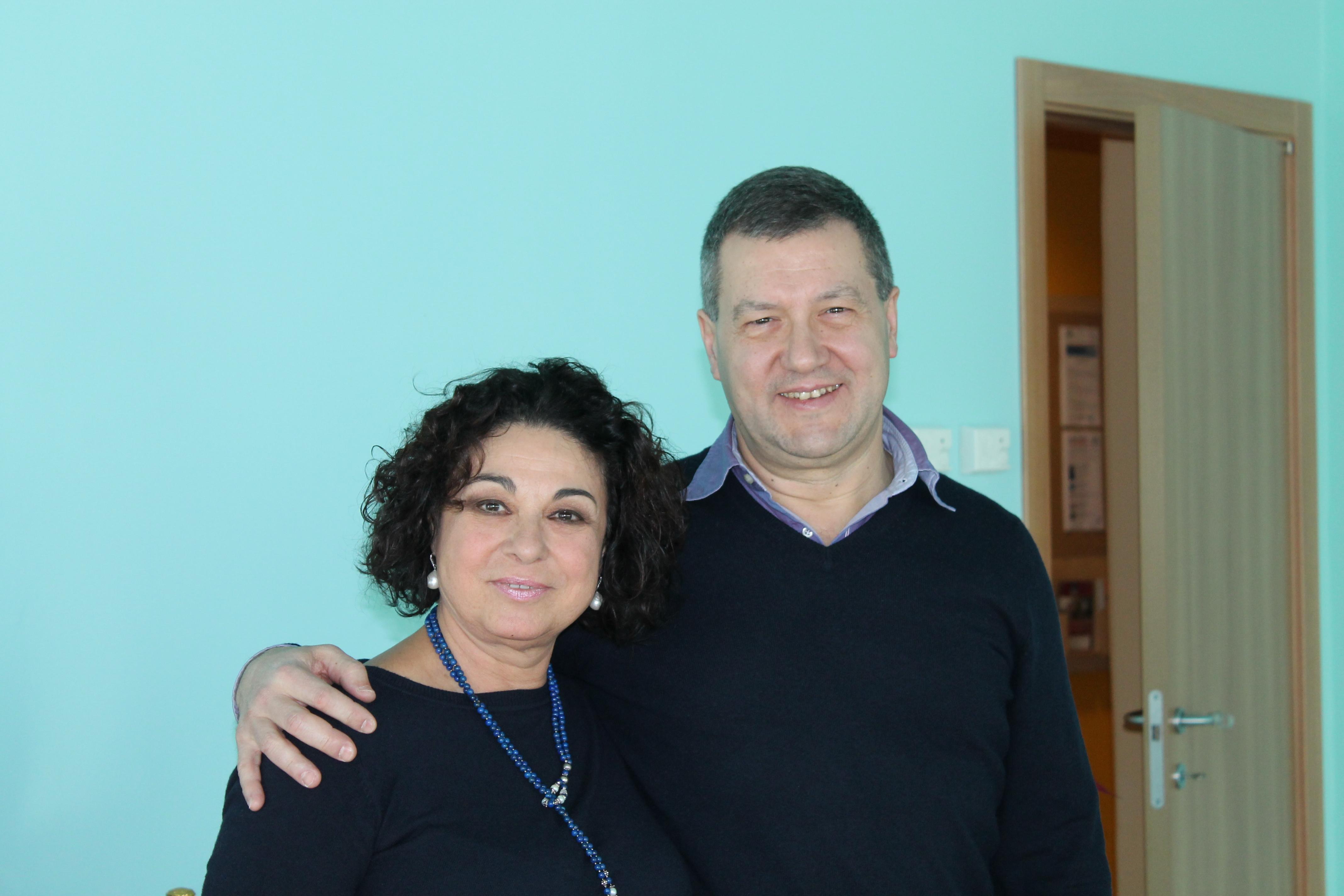 Emanuela Ceresani e Roberto Costantini